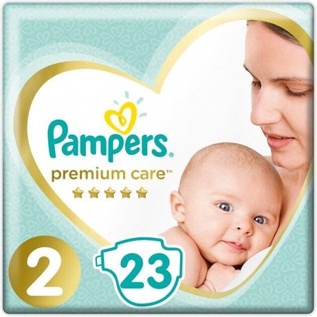 Pampers Premium care 2 (4-8кг), 23 шт