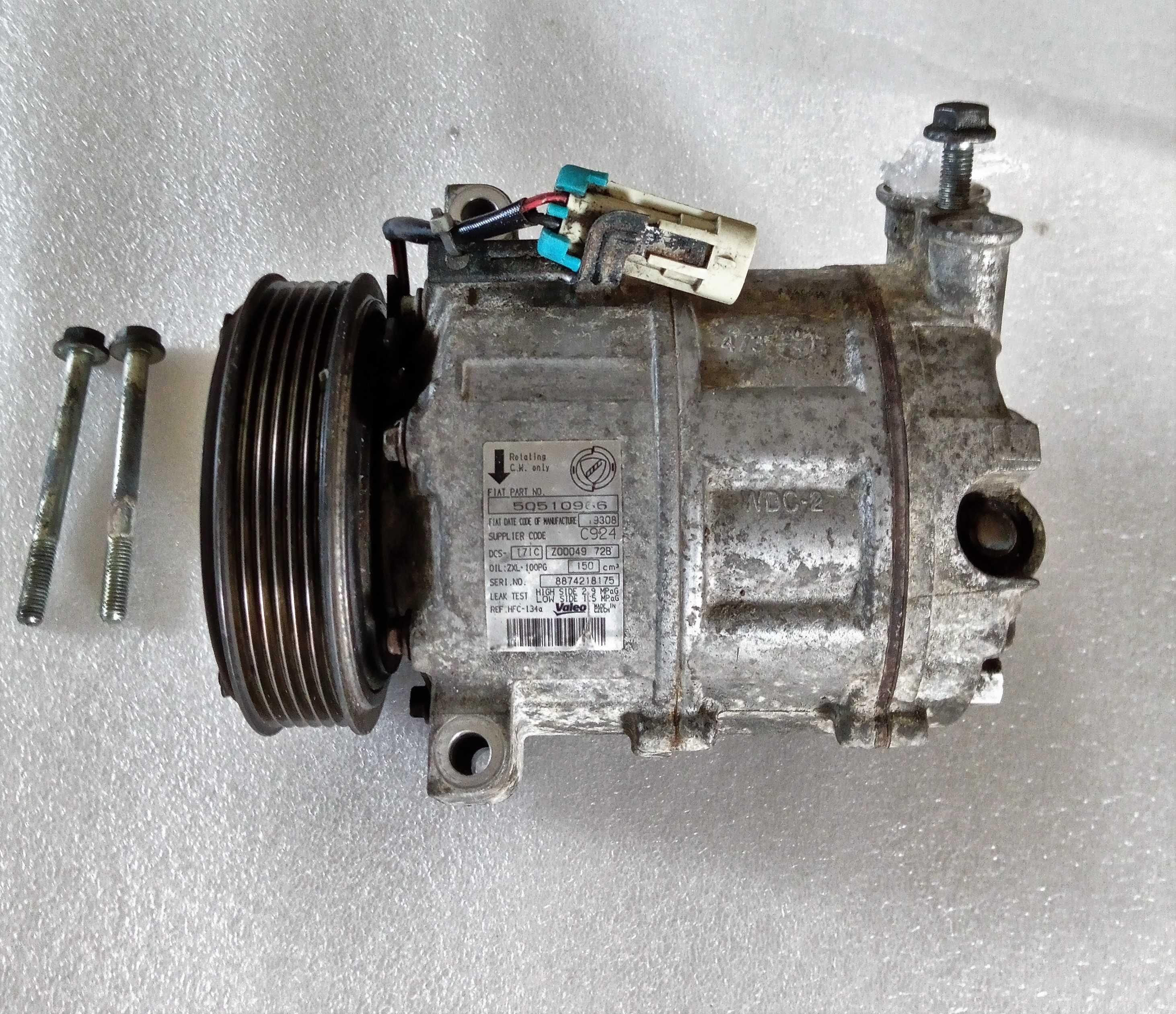 Compressor Ar Condicionado Alfa Romeo 159 (usado)