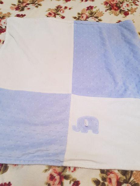 Плед одеяло детское 30×30