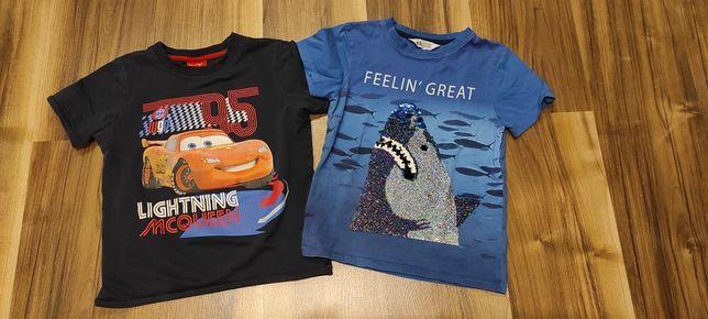 Koszulki chłopięce r 122
