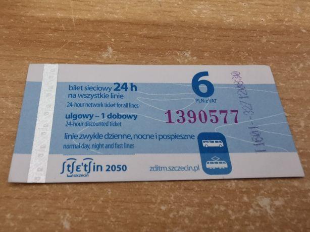 Bilet ZDITM Szczecin