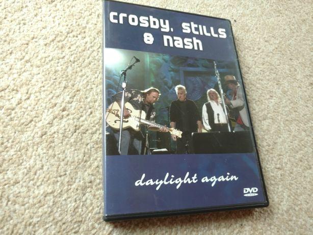 """Crosby, Stills & Nash """"Daylight Again"""", płyta DVD, stan idealny, nowa"""