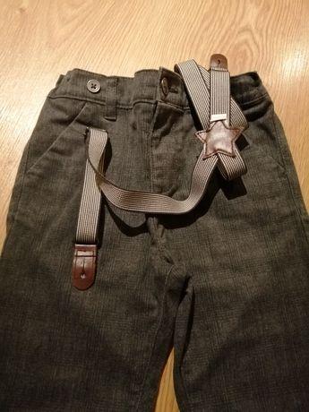 Spodnie szelki rurki slim Reserved, Cool Club, FF 110/116