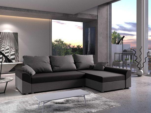 Denver narożnik rogówka sofa kanapa f.spania 200x144cm DOSTAWA W 5dni