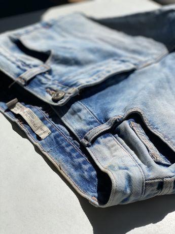 Шорты джинсовые zara с высокой посадкой