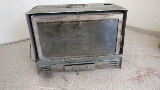 Lareira recuperador calor com ventilador
