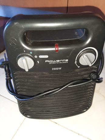 Aquecedor/ventilador rowenta impecavel