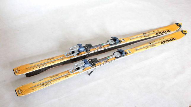 Skitury ATOMIC 180 cm z wiązaniami
