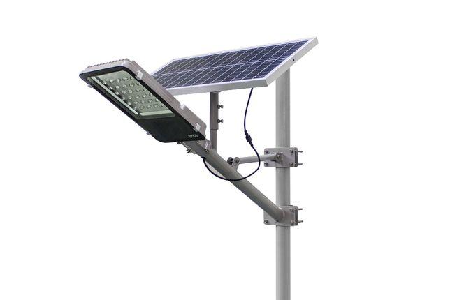 WYPRZEDAŻ !!! Lampa solarna LED 30w panel 60w fotowoltaika
