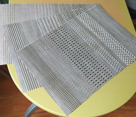 Maty prostokątne na stół meble 3 sztuki