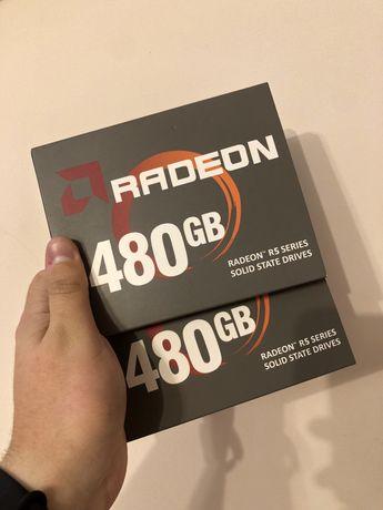 ssd AMD 480gb практически новые. гарантия