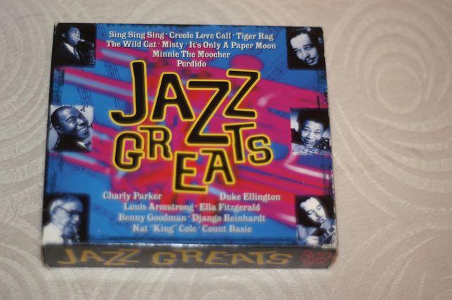Sprzedam trzy częściowy BOX CD: Jazz Greats, Jazz Masters, Jazz Legend