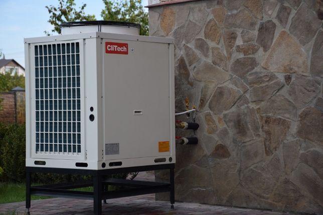 Тепловой насос воздух-вода Clitech. Экономьте на отоплении!