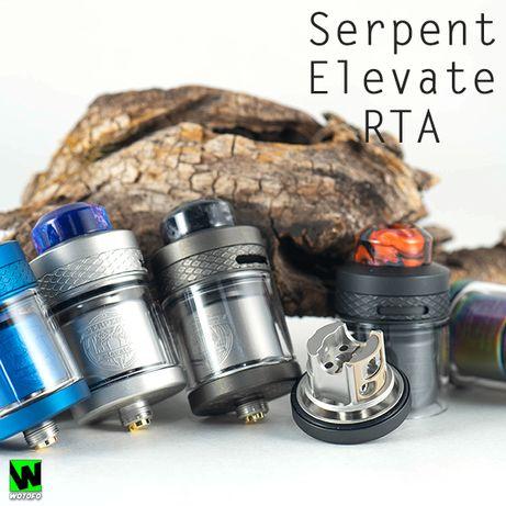 Дрипка бак Wotofo Serpent Elevate RTA ( вейп, навал, пар, вкус )