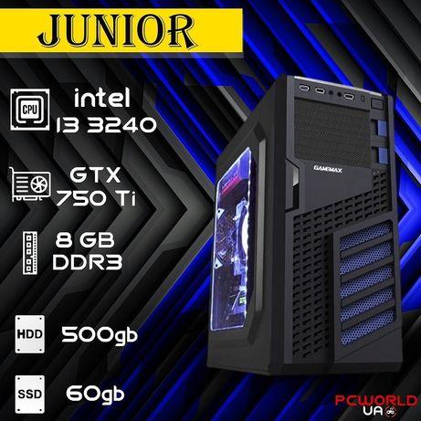 Комп'ютер intel i3 3240 GTX 750 Ti SSD 8gb ddr3