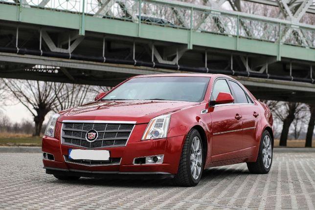 Samochód do ślubu, piękny Cadillac CTS, Rzeszów i okolice