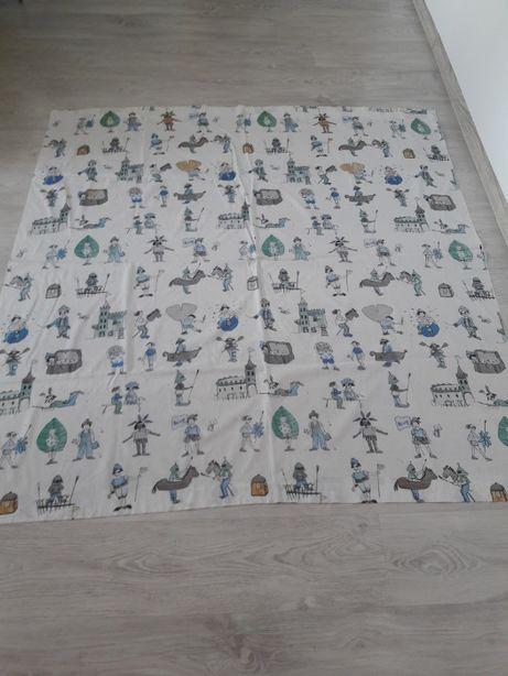 Zasłonki z bawełny do pokoju dziecięcego 2 sztuki