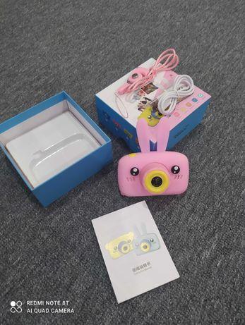 Детский фотоаппарат, дитячий фотоаппарат, камера, зайчик