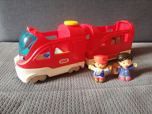 Fisher-Price pociąg Little People Mali Odkrywcy