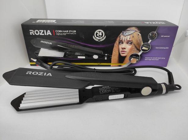 Плойка-Гофре для волос Rozia HR-746 щипцы для волос гофре