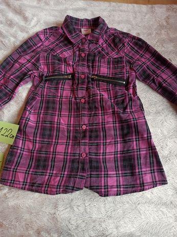 Koszula - bluzka w krate rozm 122