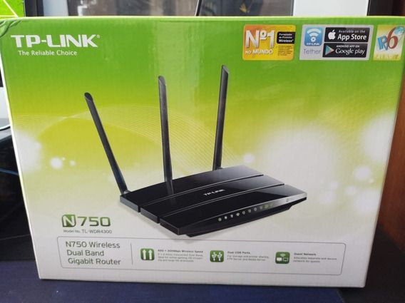 Router TP-Link N750 Wireless Dual band Gigabit Wifi