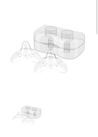 Силиконовые накладки на соски + крем для сосков в подарок(new)