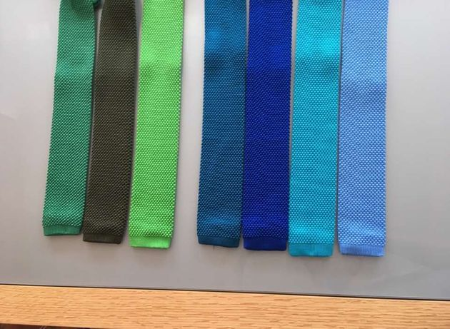 Gravatas de malha