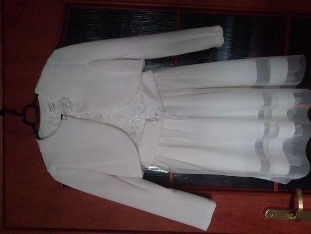 Sukienka z bolerkiem r.140
