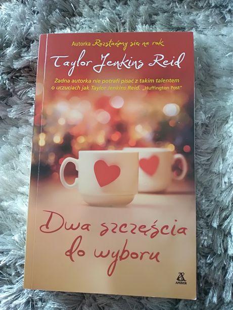 """Książka """"Dwa szczęścia do wyboru"""" Taylor Jenkins Reid"""