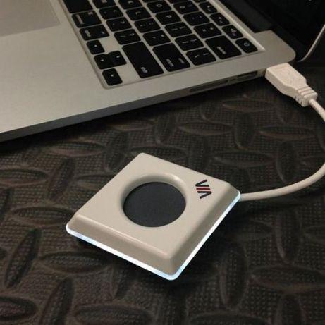 Кнопка подключения к интерактивной системе VIA PAD