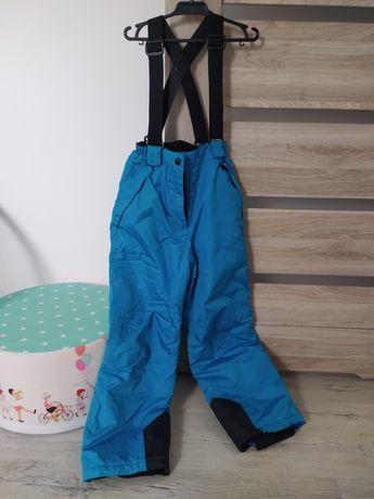 Sprzedam spodnie zimowe nieprzemakalne narciarskie r. 140 nowe idealne
