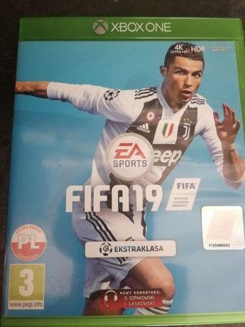 Gra Fifa 19 PL xbox one
