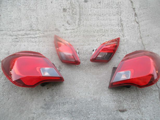 Opel Corsa E lampa lampy tył w klape w błotnik KOMPLET 5-cio drzwiowa