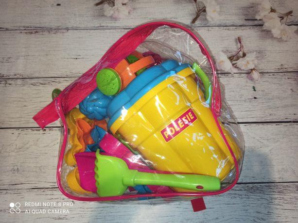 Полесье Беларусь Набор песочный для игр в песке пасочки в рюкзаке