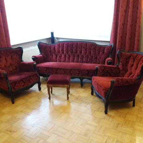 Sprzedam sofę z dwoma fotelami