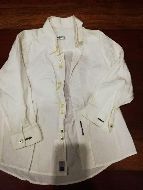 Camisa branca Mayorista Portes incluídos