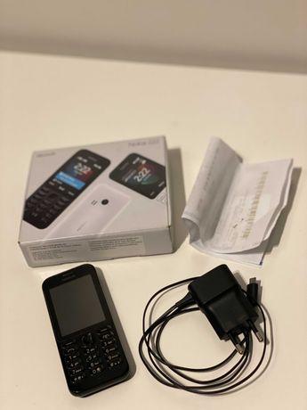 NOKIA 222 czarna MICROSOFT telefon komrórkowy