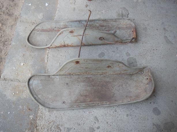 Osłony metalowe na nogi WSK