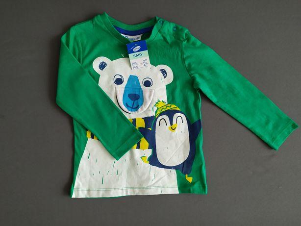 Zielona bluzka pepco 92