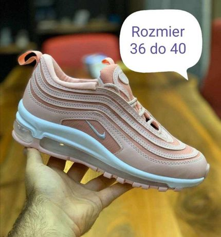 Nike Air Max 97. Rozmiar 36. Kolor pudrowy. Szybka paczka