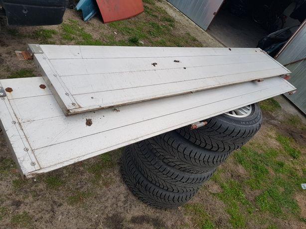 Burty aluminiowe truck przyczepka