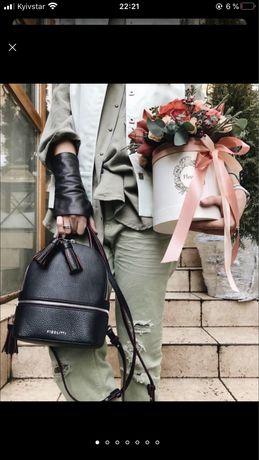 Рюкзак кожаный Salerno Fidelitti