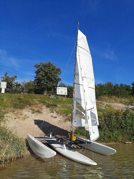 Sprzedam pływak, kadłub. deska windsurfing środkowa Sosnowiec - image 1