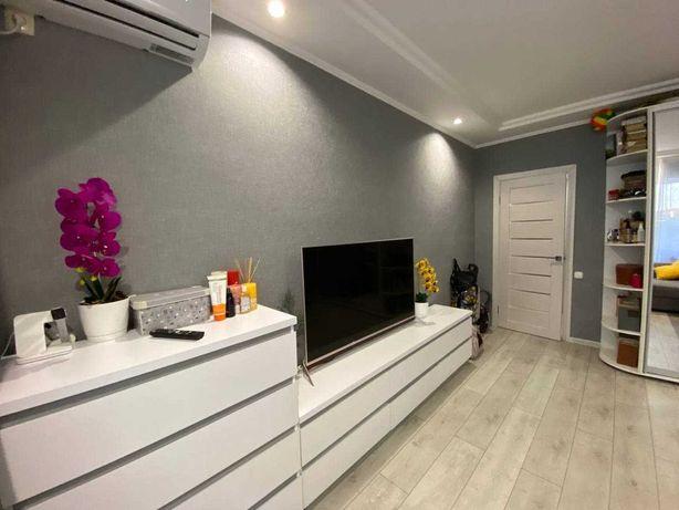 1комнатная квартира в новом доме с ремонтом на Слободке