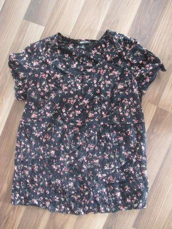 bluzka koszula ciążowa floral kwiaty H&M rozm.M