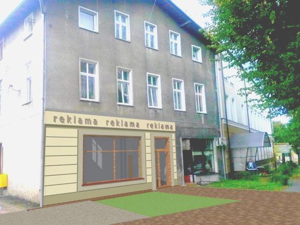 Lokal 173,6 m2, 12- pomieszczeń, handel,usługi, prod. lub 3 mieszkania