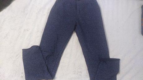 Spodnie dresy ciepłe legginsy dla dziewczynki