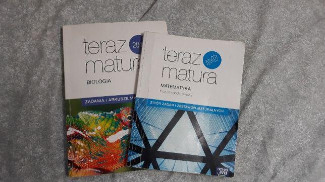 Teraz Matura- matematyka, biologia
