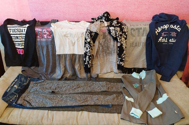 Paczka ubrań dla dziewczynki 11-13 lat